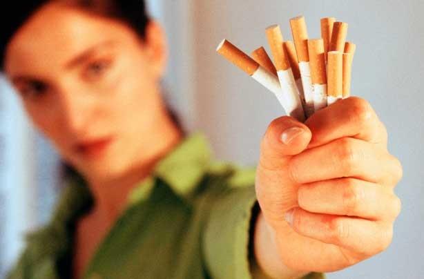 Handful of cigarettes