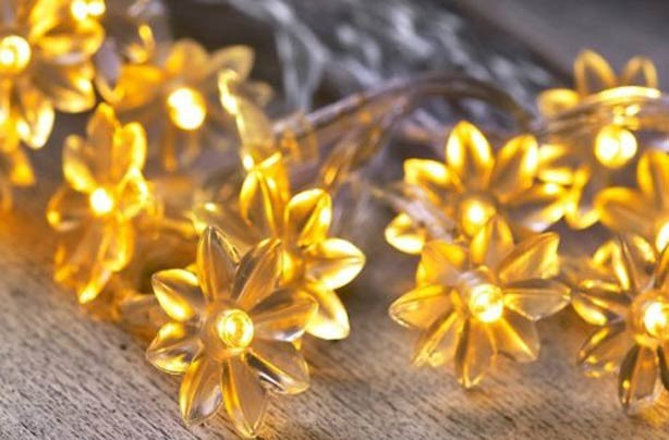 Fairy lights: Brighten up your home for under a fiver