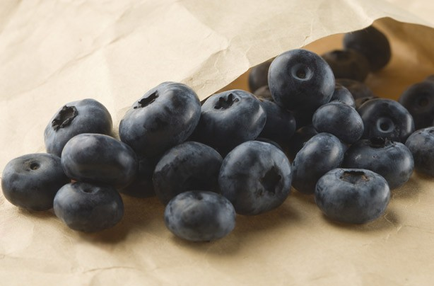 Blueberries, negative calorie foods