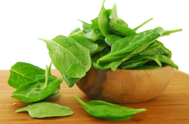 Spinach, negative calorie foods