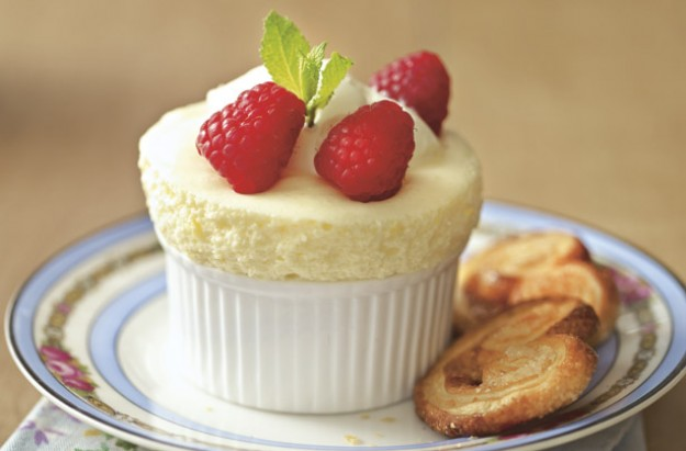 Eggs are brilliantly versatile and have so many uses in cooking. Follow our easy step-by-step to make this lovely, fluffy, creamy lemon soufflés. There is no cooking or baking involved.