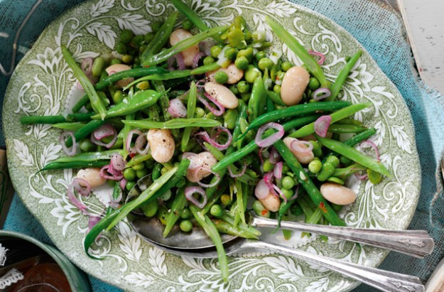 Mixed summer bean salad Slimming World recipe