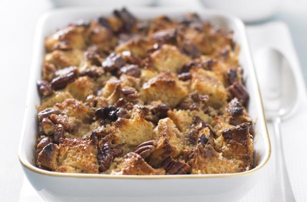 Photo: bread and butter pudding