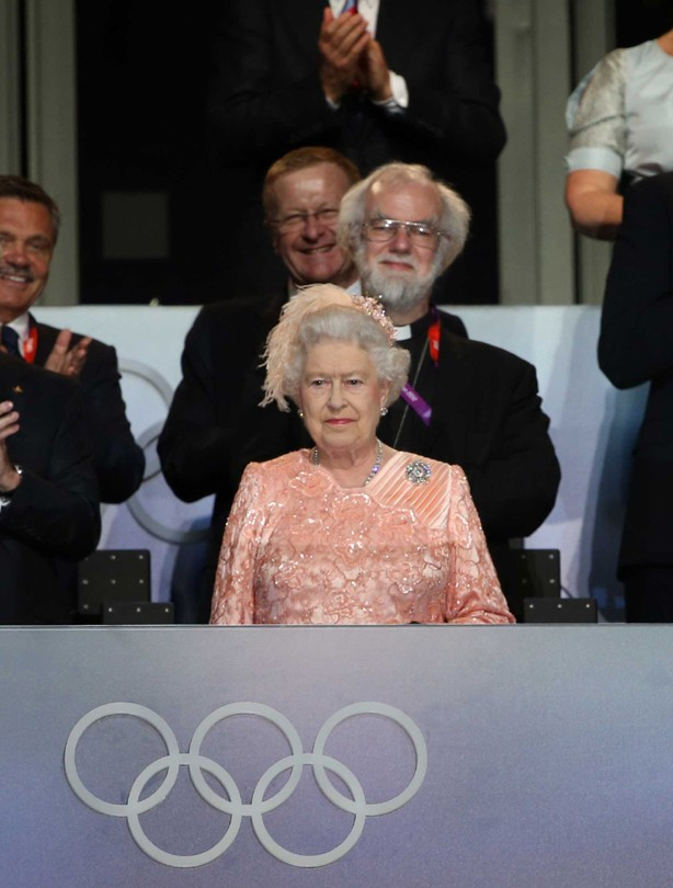 The Queen wows at the opening ceremony