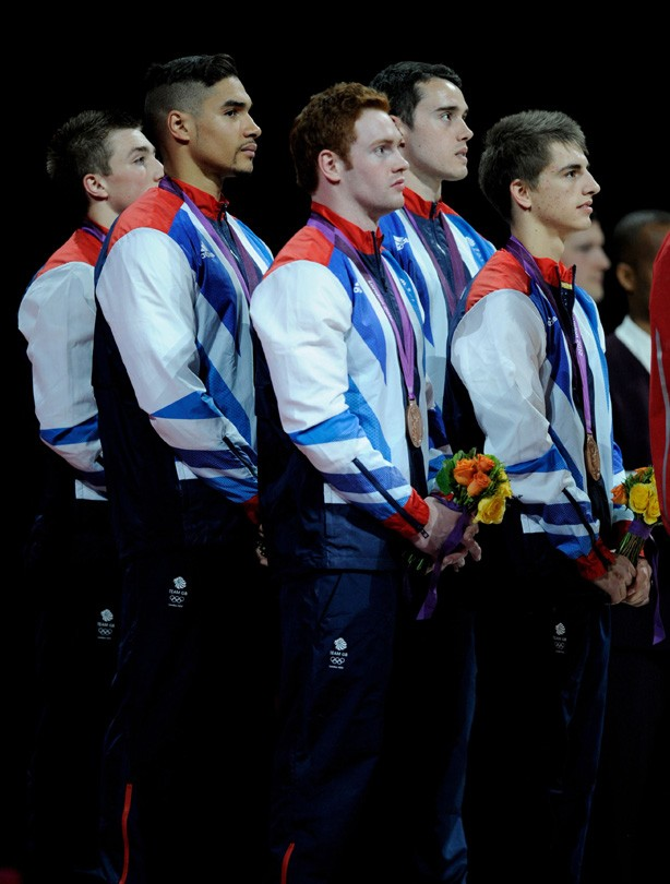 Team GB's gymnastics team win bronze!