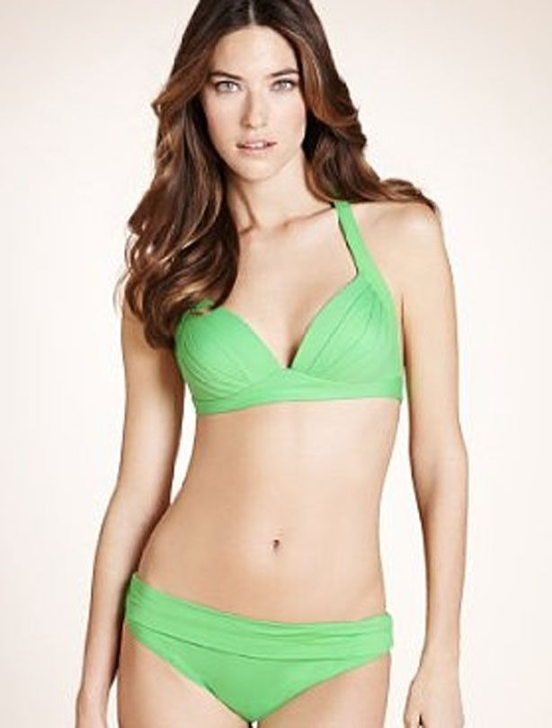 Marks-and-spencer-green-bikini-photo
