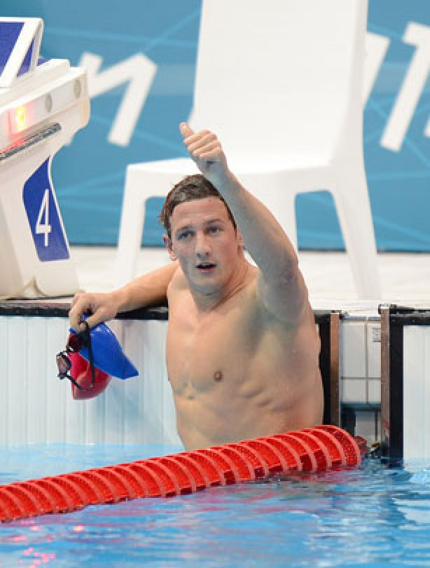 Michael Jamieson sets British record