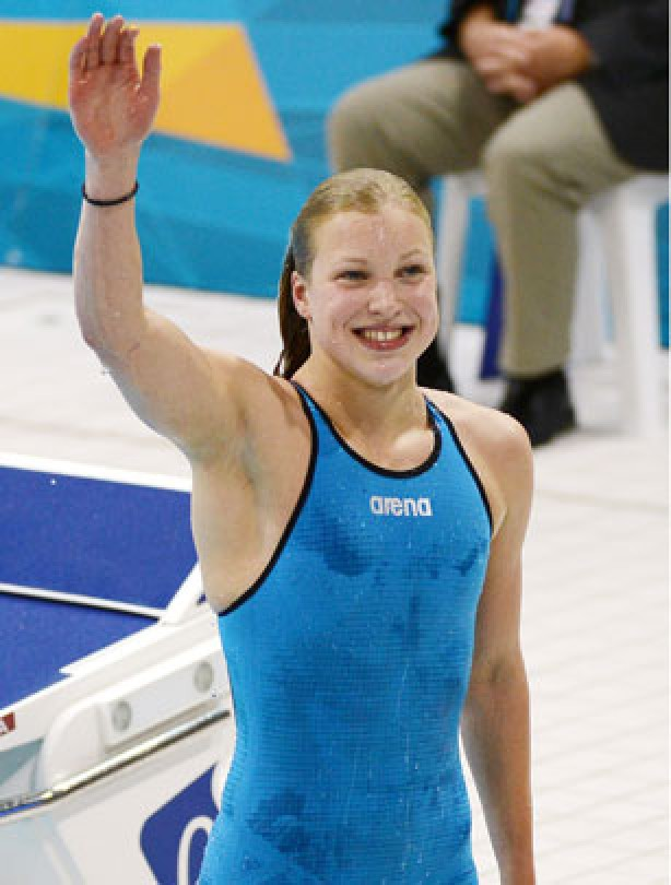 Ruth Meilutyte from Lithuania wins gold