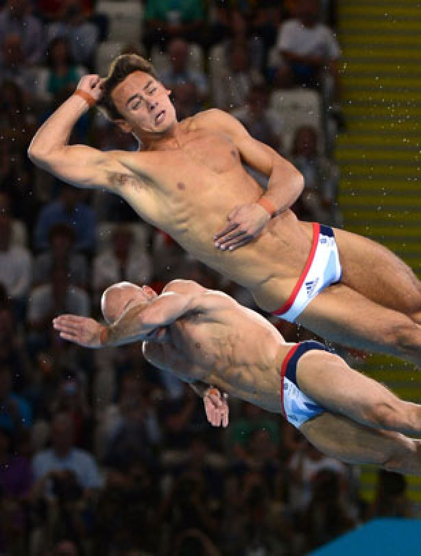 Tom Daley and Peter Waterfield miss medal