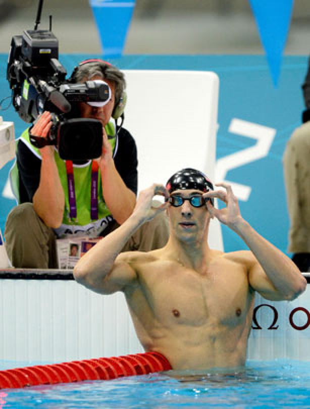 Michael Phelps is a machine