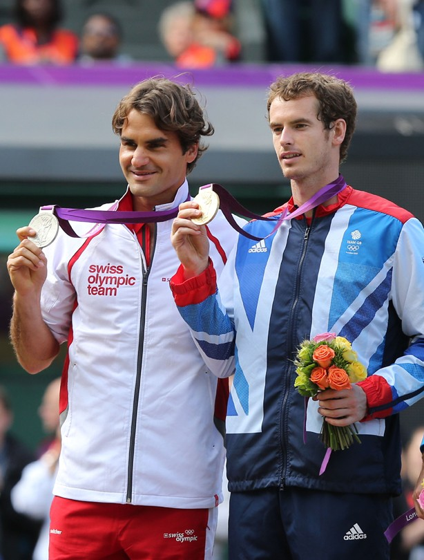 Andy Murray beats his biggest rival to gold