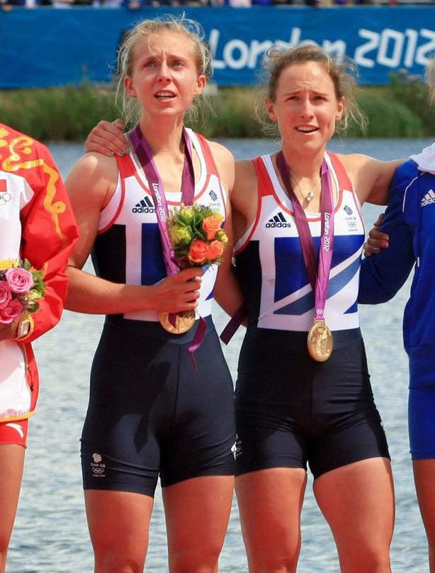 Katherine Copeland and Sophie Hosking