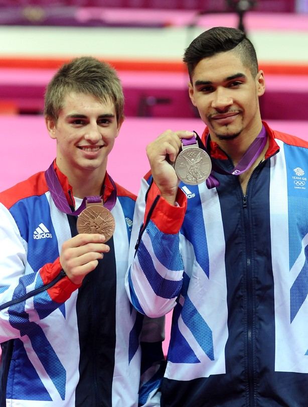 Max Whitlock and Louis Smith