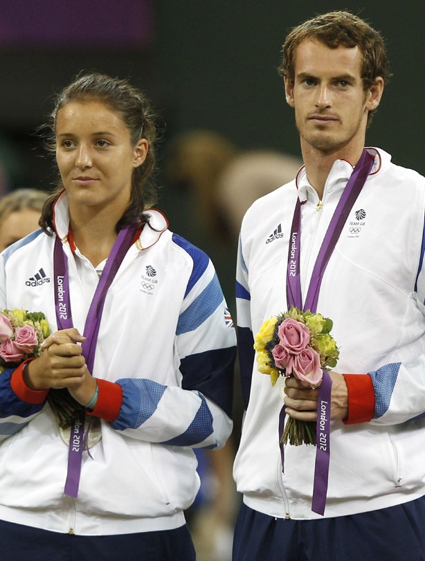 Laura Robson und Andy Murray