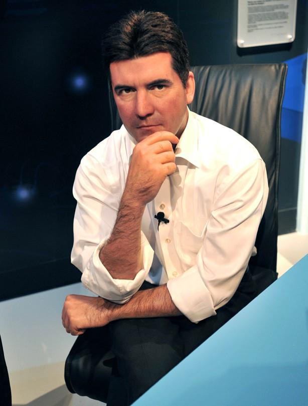 Simon Cowell waxwork