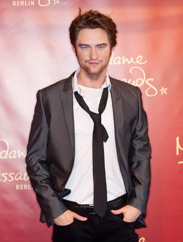 Robert Pattinson waxwork