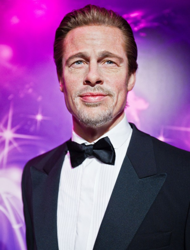 Brad Pitt waxwork