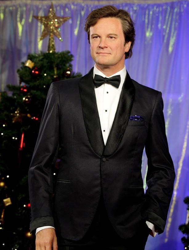 Colin Firth waxwork