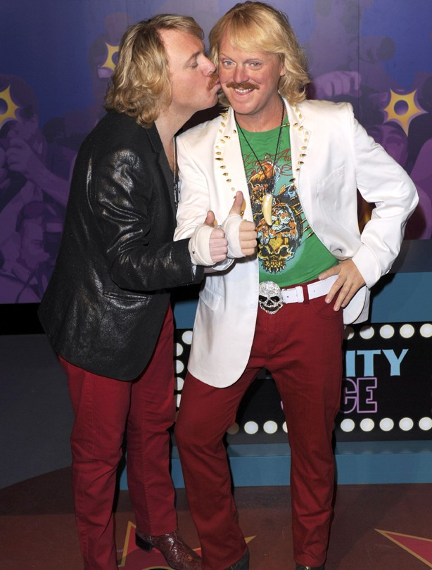 Keith Lemon waxwork
