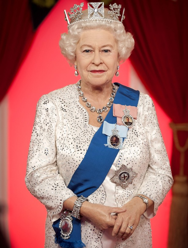 The Queen waxwork