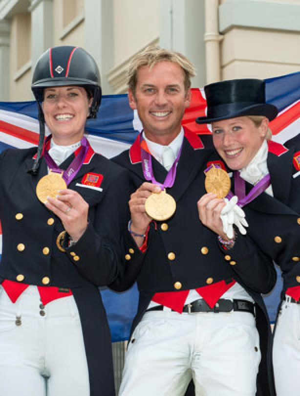 Team GB dressage to impress
