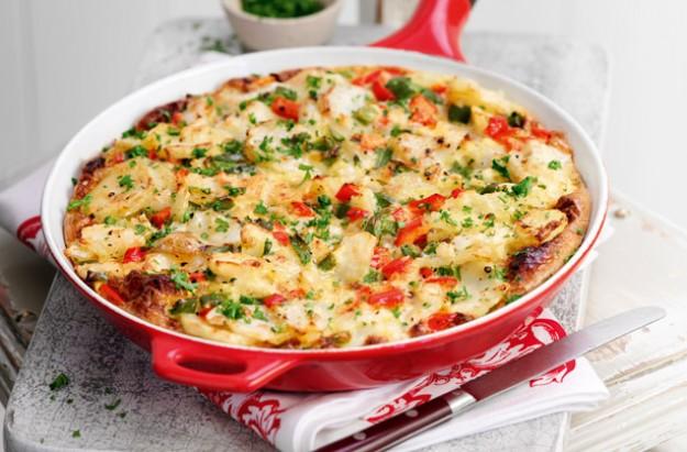 Spanish style tortilla