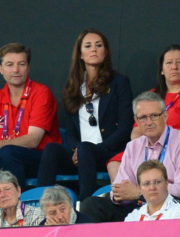 Kate's got Olympic fever
