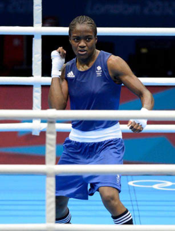Nicola Adams boxing champ