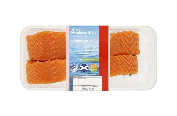Sainsbury's Scottish Salmon Fillets