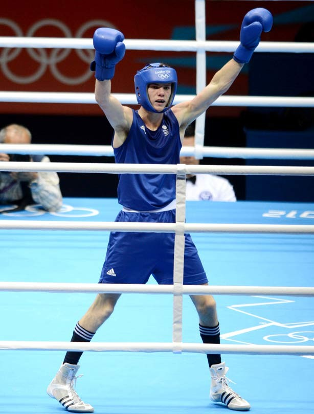 Luke Campbell Gold Medallist London 2012 Olympic Games