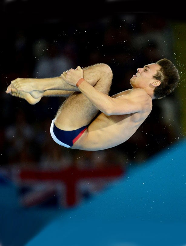 Tom Daley Olympic bronze medallist