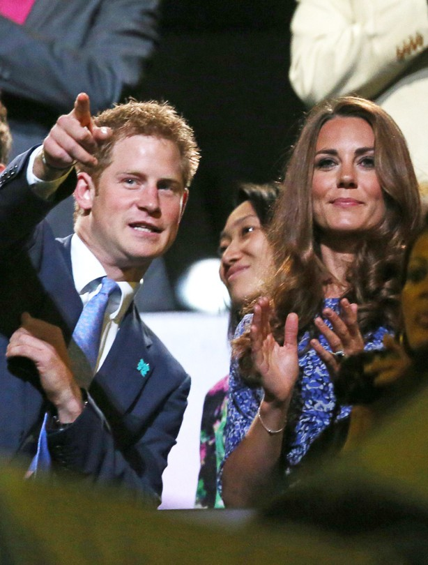 Prince Harry and Kate