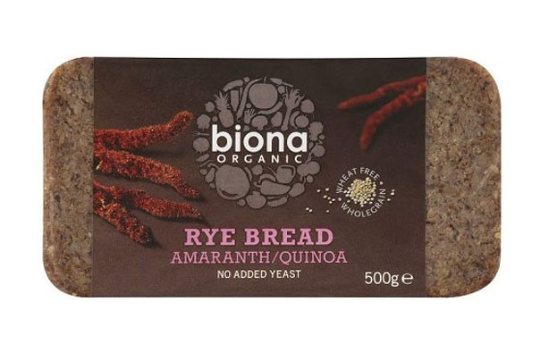 Biona organic rye bread