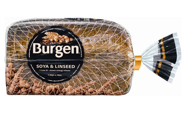 Burgen soya and linseed slicked bread