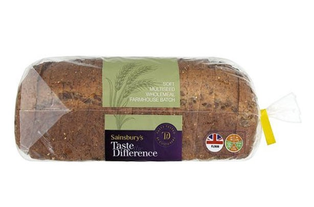 Sainsburys taste the difference multiseed farmhouse bread