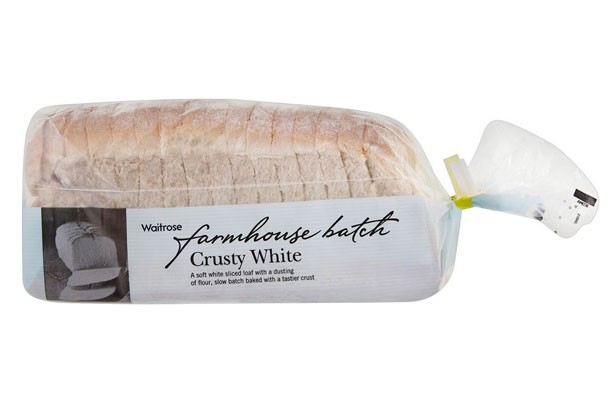 Watirose farmhouse batch sliced bread