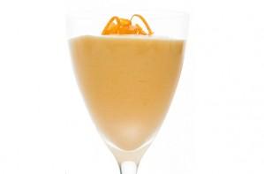 Mango and orange mousse
