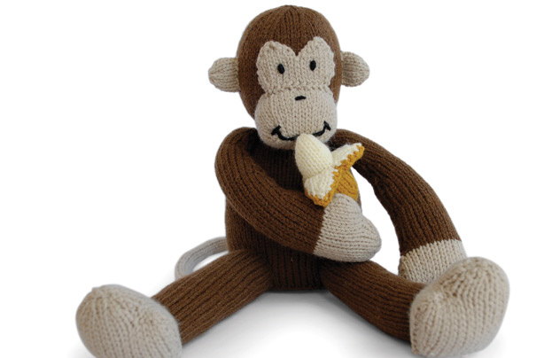 Monkey knitting pattern - goodtoknow