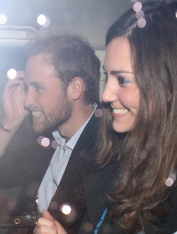 Kate and William: December 2008
