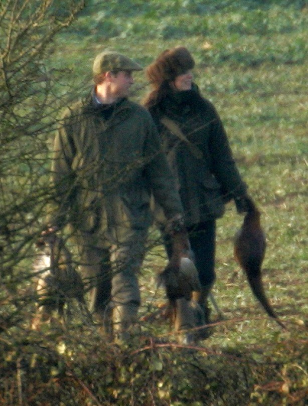 Kate and William: December 2007