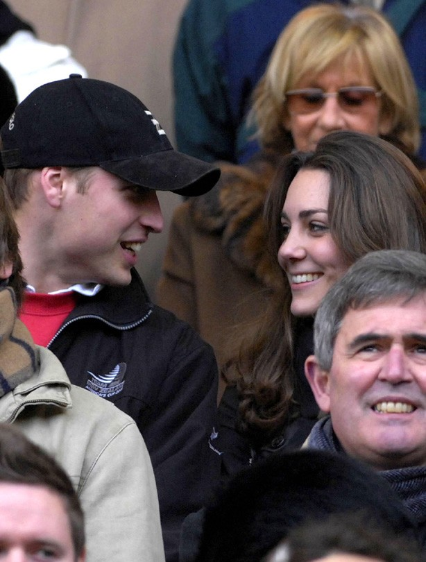 Kate and William: February 2007
