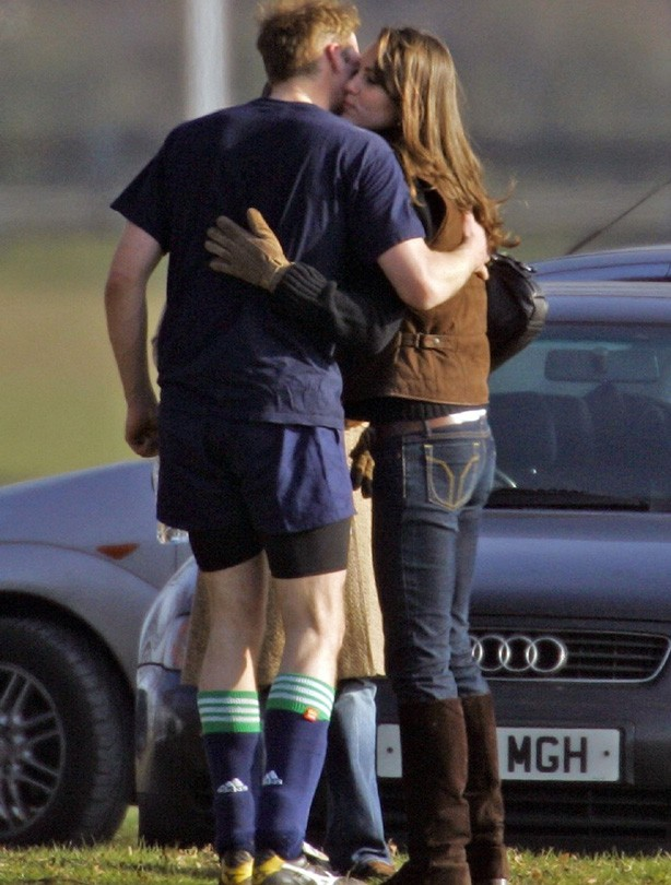 Kate and William: March 2006