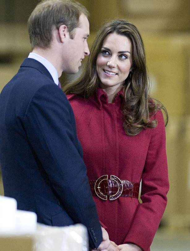 Kate and William: November 2011