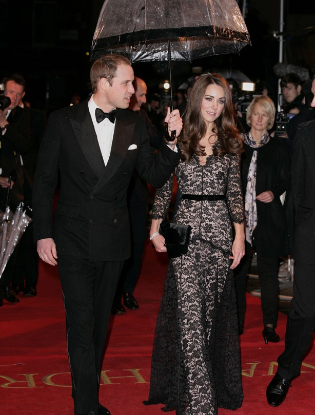 Kate and William: January 2012