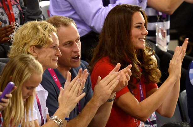 Kate and Wills at the Games