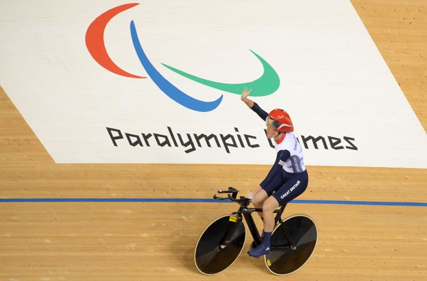 Sarah Storey team GB