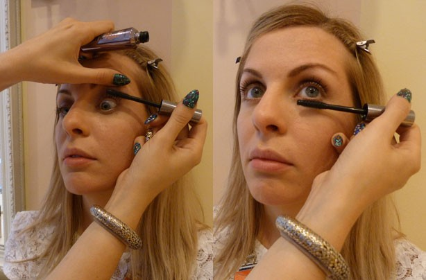 Benefit make up how to - night out mascara