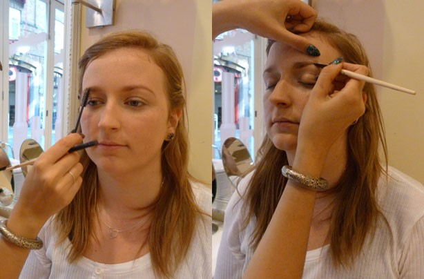 Benefit how to natural day look eyebrows