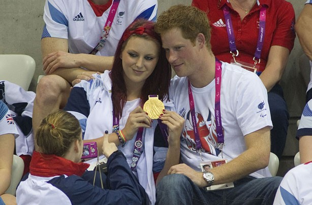 Prince Harry at the Paralympics