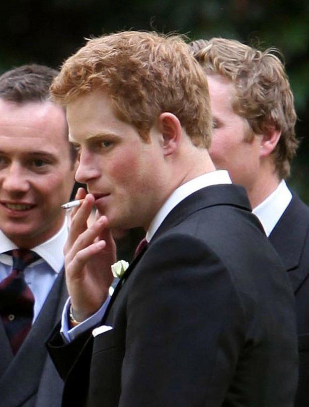 Prince Harry the bad boy